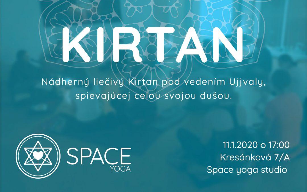 Akcia: Kirtan – liečivé spievanie mantier