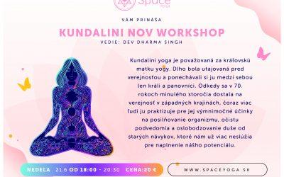 21.6. Kundalini NOV workshop